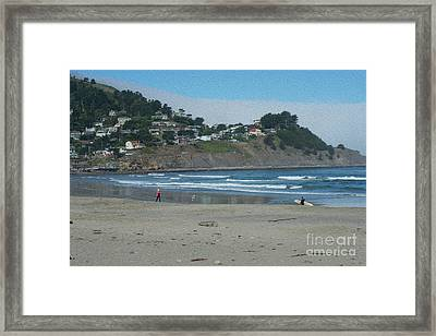 Framed Print featuring the photograph Pacifica California by David Bearden