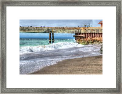 Pacifica Pier  Framed Print