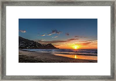 Pacifica Sunset Framed Print