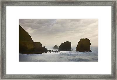 Pacifica Surf Framed Print