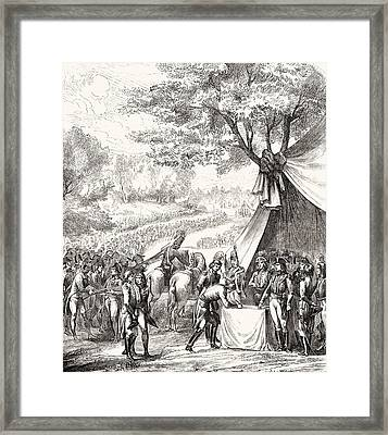 Pacification Of The Vend E, 1793. From Framed Print