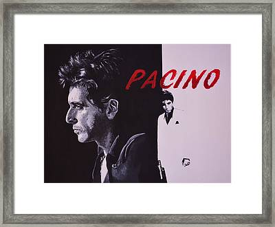 Pacino Framed Print by Ken O'Hara
