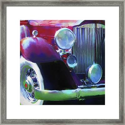 Packard Close Up Framed Print by David King