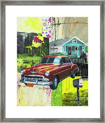 Packard Framed Print by Elena Nosyreva
