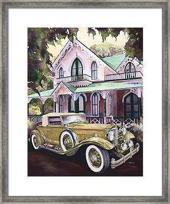 Packard Golf And Greens Framed Print by Mike Hill