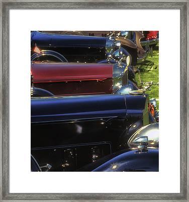 Packard Row Framed Print