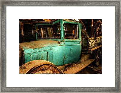 Packed And Parked Framed Print by Marnie Patchett