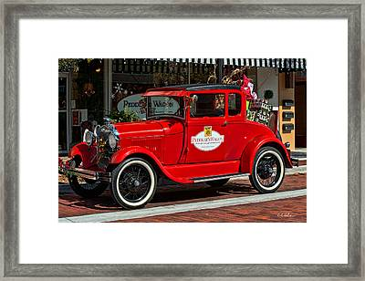 Packed For Christmas Framed Print by Christopher Holmes