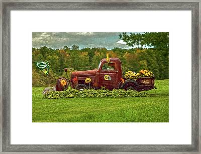 Packers Plow Framed Print by Trey Foerster