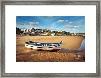 Paco Darcos Beach Framed Print