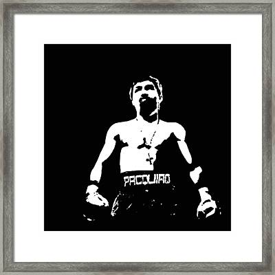 Pacquiao Framed Print by Elvin Dantes
