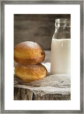 Paczki Doughnuts Framed Print by Deborah Klubertanz