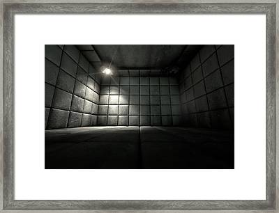 Padded Cell Dirty Spotlight Framed Print by Allan Swart