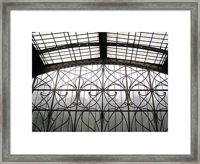 Paddington Ironwork Framed Print