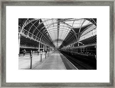 Paddington Station Framed Print
