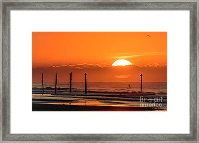 Paddle Home Framed Print