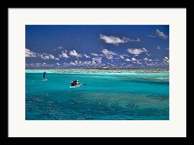 Moorea Framed Prints