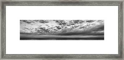 Paddling Out II Framed Print by Jon Glaser