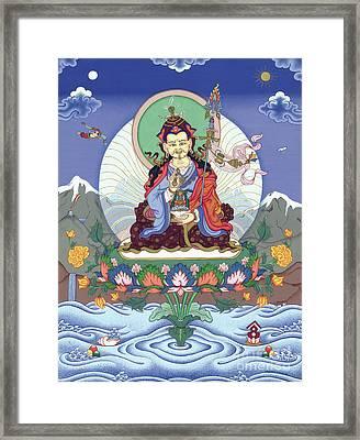 Padmasambhava Framed Print by Carmen Mensink