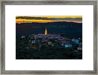 Padna Framed Print by Robert Krajnc