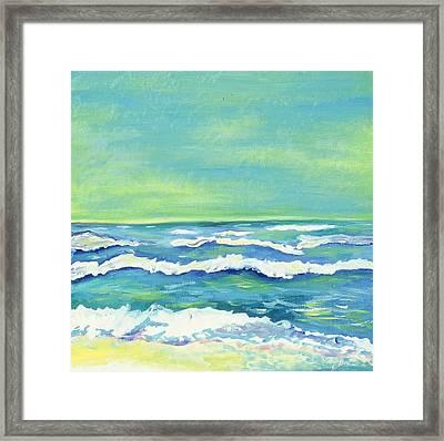 Padre Island Texas Framed Print