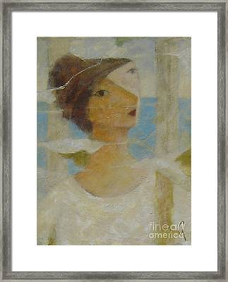 Framed Print featuring the painting Padrona by Glenn Quist