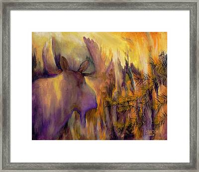 Pagami Fading Framed Print