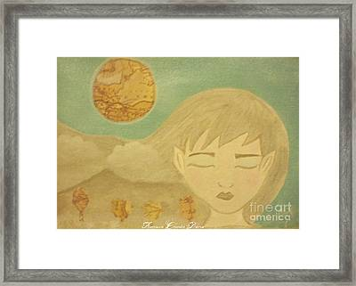 Pagan Earth Spirit Framed Print by Sacred  Muse