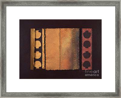 Page Format No.4 Tansitional Series  Framed Print