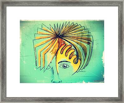Page Turning Framed Print by Paulo Zerbato
