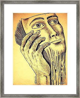 Pages Of Life Framed Print by Paulo Zerbato