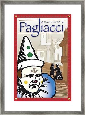 Pagliacci Framed Print
