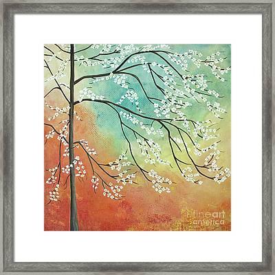 Flowering Dogwood Blossom Joy Framed Print