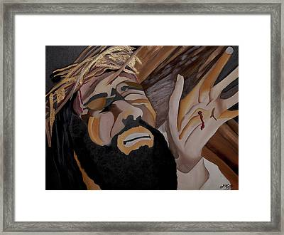 Paid The Price Framed Print by Chelsea VanHook
