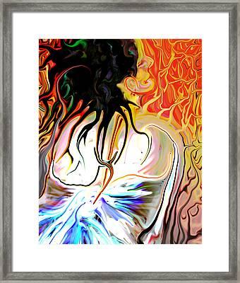 Pain Slow Death One Framed Print