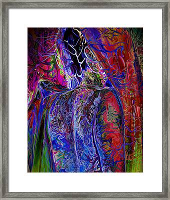 Pain Slow Death Six Framed Print