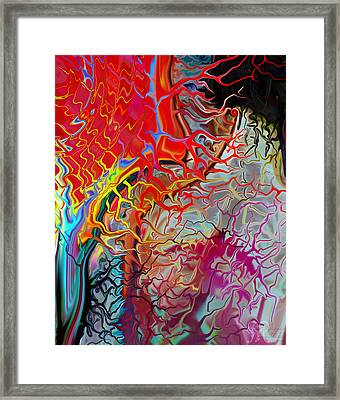Pain Slow Death Two Framed Print