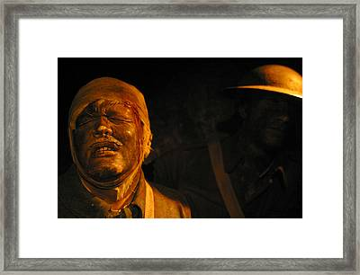 Pain You Could Not Understand Framed Print by Jez C Self