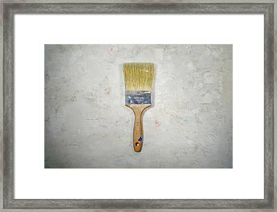 Paint Brush Framed Print by Scott Norris