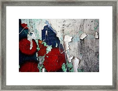 Paint Chips Framed Print by Jason Hochman