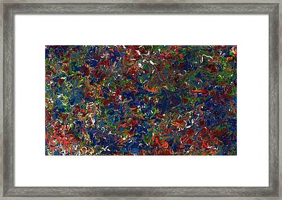 Paint Number 1 Framed Print by James W Johnson