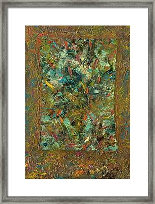 Paint Number 24 Framed Print by James W Johnson