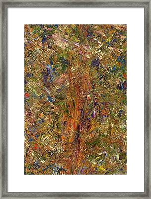 Paint Number 25 Framed Print by James W Johnson