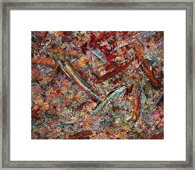 Paint Number 30 Framed Print