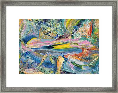 Paint Number 31 Framed Print by James W Johnson