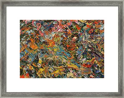Paint Number 35 Framed Print