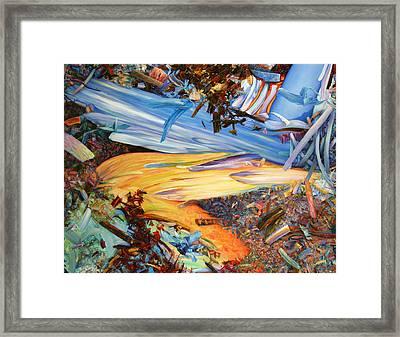 Paint Number 38 Framed Print