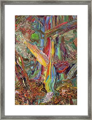 Paint Number 40 Framed Print