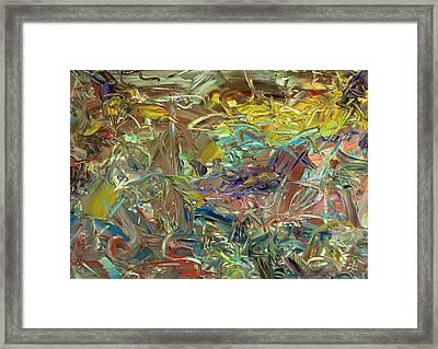 Paint Number46 Framed Print