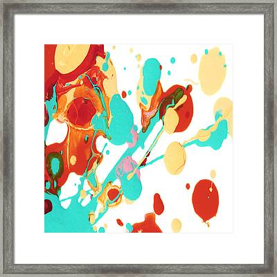 Paint Party 3 Square Framed Print